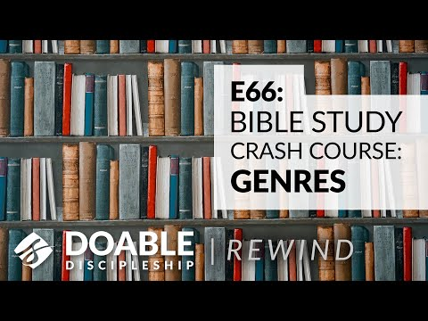 Doable Discipleship Rewind - Bible Study Crash Course - Genre