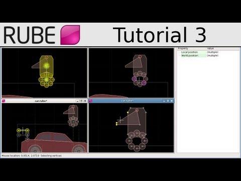 RUBE editor tutorial 3/18 - Edit modes, selecting, and the cursor - UCTXOorupCLqqQifs2jbz7rQ