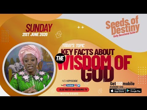 Dr Becky Paul-Enenche - SEEDS OF DESTINY  SUNDAY JUNE 21, 2020