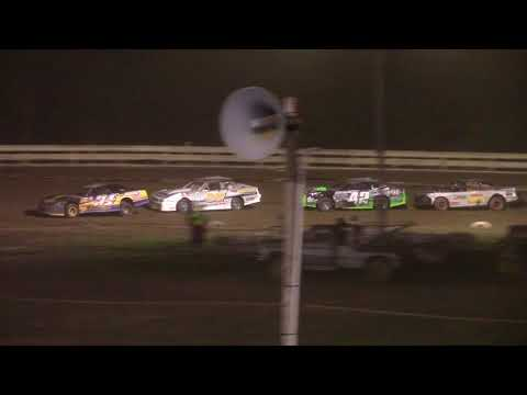 Hummingbird Speedway (7-31-21): Sunny 106.5 FM Pure Stock Feature - dirt track racing video image