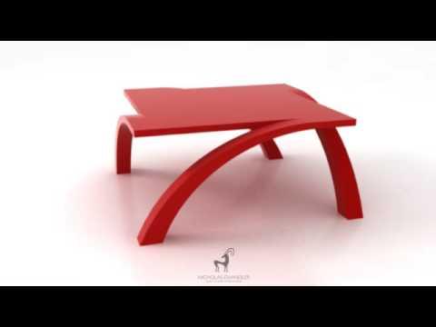 Vega Table In Red