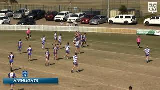 2019 Newcastle RL - Reserve Grade Round 15 Highlights - Lakes United v Central Newcastle