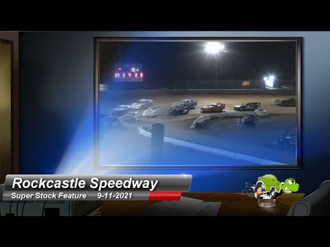 Rockcastle Speedway - Super Stock Feature - 9/11/2021 - dirt track racing video image