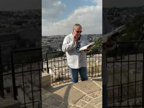 Messiah Coming to the Mt of Olives