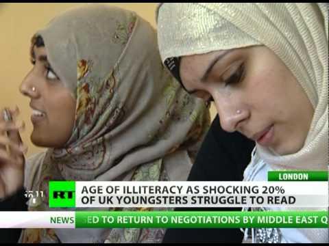 Age of Illiteracy: Shocking 20% UK youths struggle to read