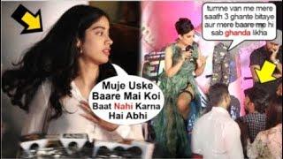 Jhanvi Kapoor IGNORES Question On Kangana Ranaut's FIGHT With Reporter @ Judgemental Hai Kya Screein