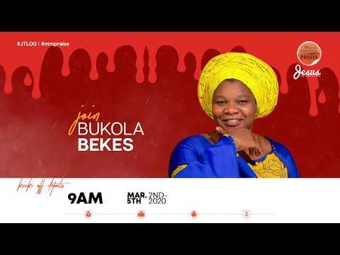 BUKOLA BEKES  MARATHON MESSIAH'S PRAISE 2020 INVITATION