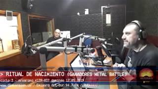 """""""El domingo post Metal Battle y la visita de Ariel Torres"""" parte  2/3  entrev: Ritual de Nacimiento"""