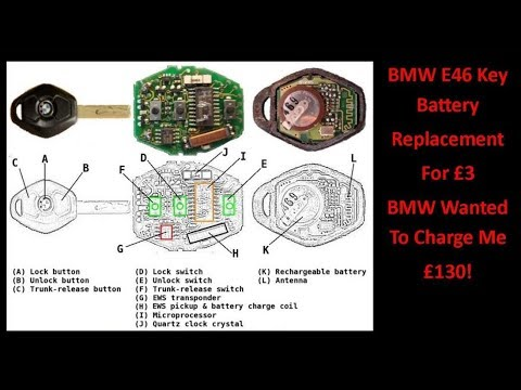 BMW E46 Key Battery Replacement For £3! - UCHqwzhcFOsoFFh33Uy8rAgQ