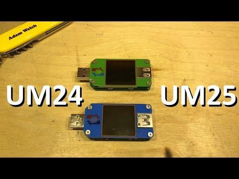 RuiDeng UM25 vs. UM24 USB Charger Doctor - 12v Solar Shed - UCm5sG3-BXQZfVy3st2T_XKg