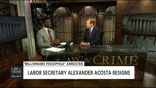 Brian Buckmire & Brian Ross Discuss the Jeffrey Epstein & Alexander Acosta Situation 07/12/19