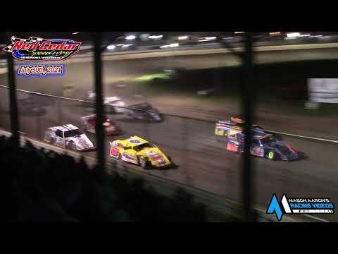 Red Cedar Speedway WISSOTA Modified A-Main (7/30/21) - dirt track racing video image
