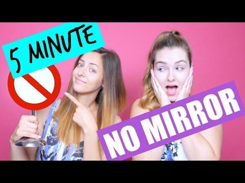 5 Minute.. NO MIRROR Makeup Challenge! - UCsWQWXOPongqZJM5D3B_oRQ