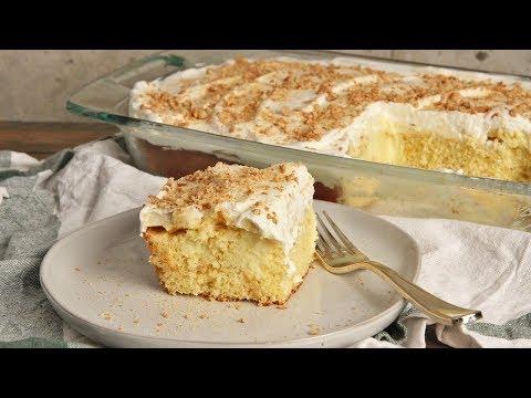 Banana Poke Cake | Episode 1279 - UCNbngWUqL2eqRw12yAwcICg