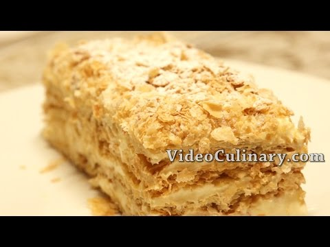 Napoleon cake  Recipe - Russian Style Mille feuille - UC3GQnxr7dYHWTvUWsaV_vBg