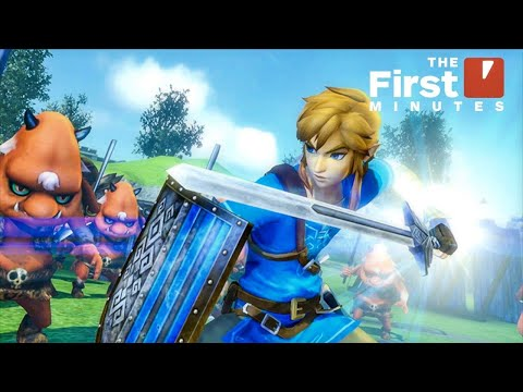 The First 19 Minutes of Hyrule Warriors: Definitive Edition on Nintendo Switch - UCKy1dAqELo0zrOtPkf0eTMw