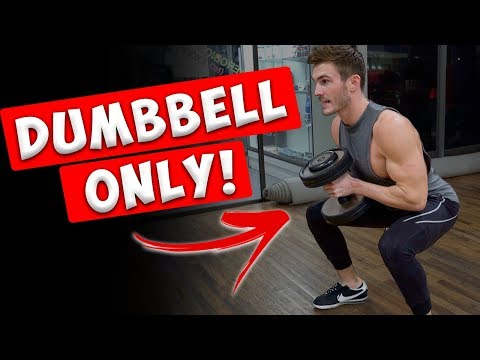 7 Different Leg Exercises with Only Dumbbells - UCOFCwvhDoUvYcfpD7RJKQwA