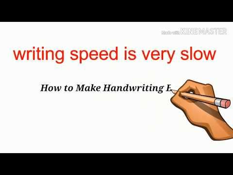 अपने मोबाइल से हाथ से लिखने वाला वीडियो बनाएं very simple।