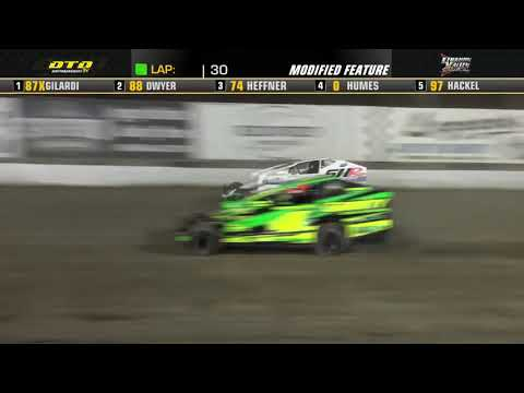 Lebanon Valley Speedway | Modified Feature Highlights | 7/31/21 - dirt track racing video image