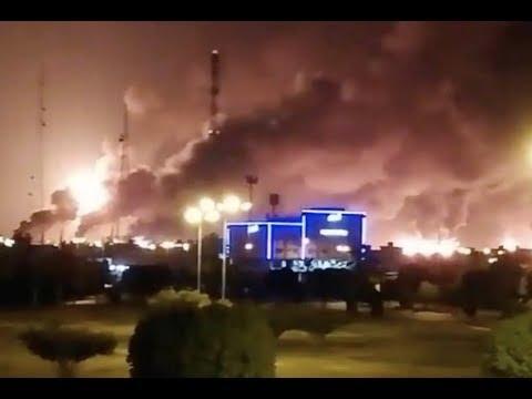 Breaking Massive Attack On Saudi Oil Facilities Oil Prices To Soar