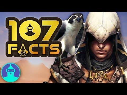 Assassin's Creed Origins - Time Shifting Powers (+107 Facts YOU Should KNOW!!! | The Leaderboard - UCkYEKuyQJXIXunUD7Vy3eTw