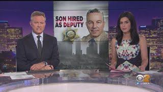 Reports: Sheriff Villanueva's Son Hired as LASD Deputy