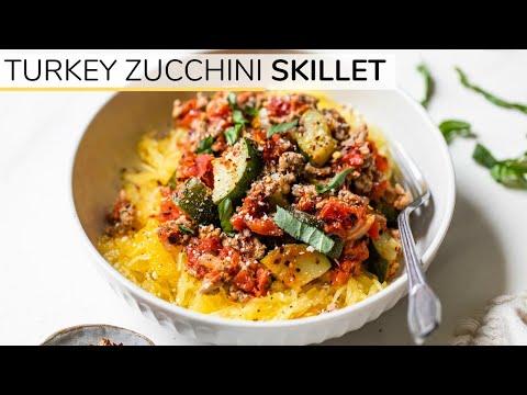 Turkey Zucchini Skillet | Easy Low Carb Dinner Idea - UCj0V0aG4LcdHmdPJ7aTtSCQ