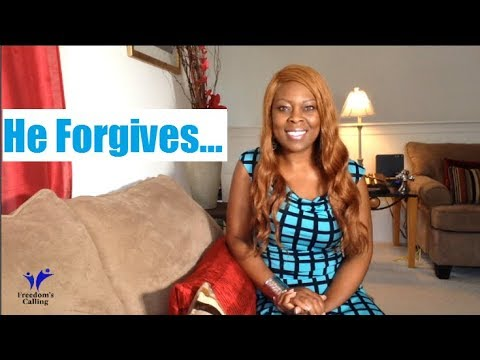 His Character...He Will Forgive You!