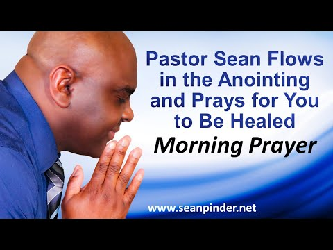 Experience the Healing Anointing as Pastor Sean PRAYS for YOU to Receive Your Healing.