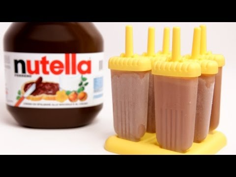 Nutella Popsicle Recipe - Laura Vitale - Laura in the Kitchen Episode 769 - UCNbngWUqL2eqRw12yAwcICg