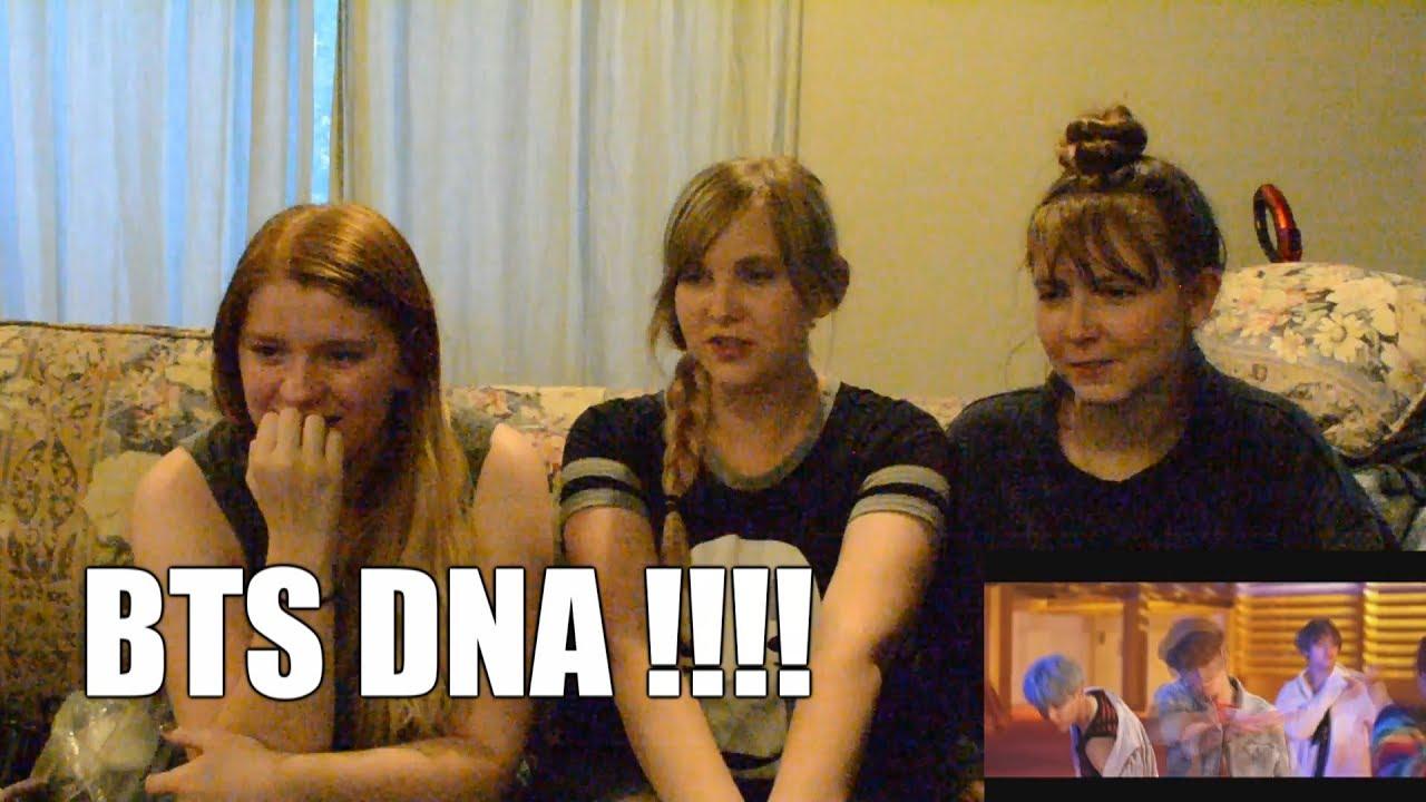 BTS DNA Official MV Reacton!!!!!!!!!!!