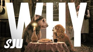 Disney+ First Looks: Does Lady and the Tramp Look Creepy? | SJU