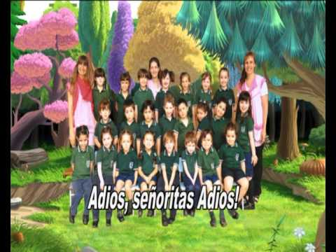 Youtube cancion de despedida para jardin esemgoldex com for Cancion en el jardin