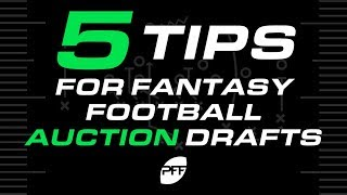 5 Tips for Fantasy Football Auction Drafts   PFF