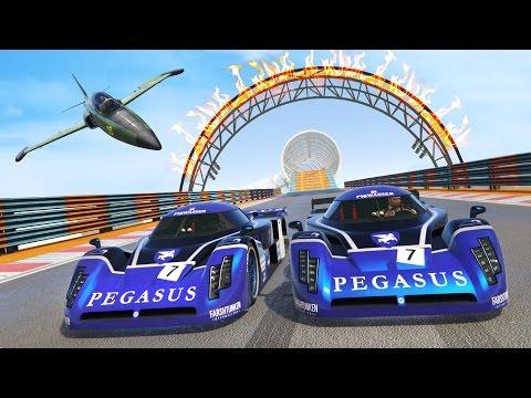 GTA 5 Online - NEW EPIC CUNNING STUNTS DLC STUNT RACES!! (GTA 5 DLC Gameplay) - UC2wKfjlioOCLP4xQMOWNcgg