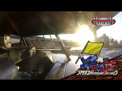 #22 Tim Petty - Cash Money Late Model - 8-14-2021 Springfield raceway - In Car Camera - dirt track racing video image