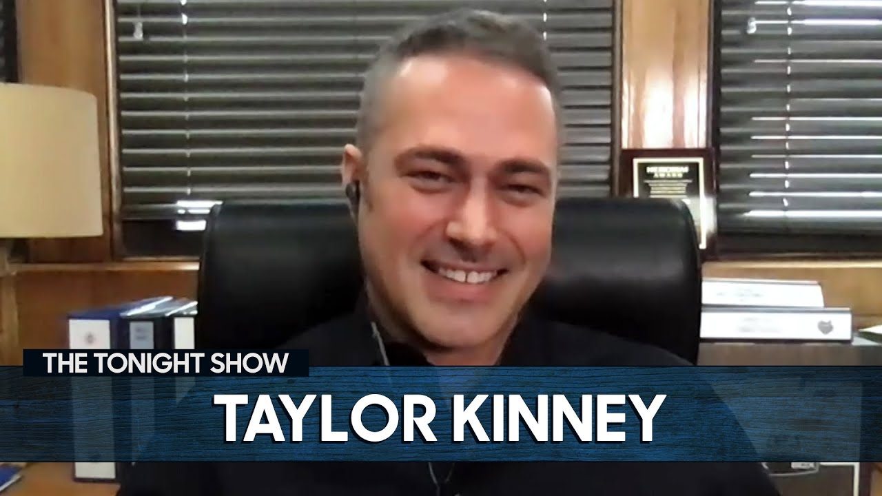Taylor Kinney First Met Jimmy at a Chicago Polar Plunge | The Tonight Show Starring Jimmy Fallon