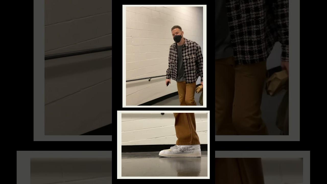 Nets Players Arrive + Pregame Kicks! 👟   #shorts