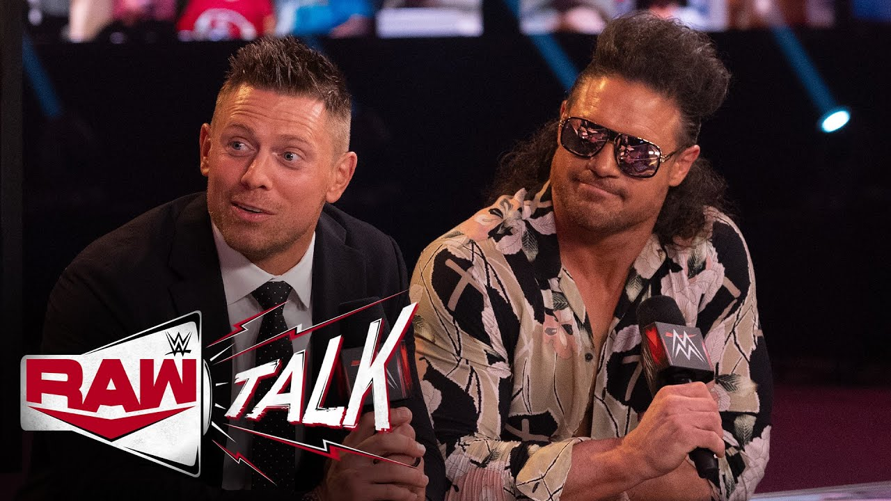 The Miz & John Morrison sound off on Bad Bunny: Raw Talk, Mar. 8, 2021