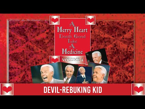 Merry Heart:  Devil-rebuking Kid  Jesse Duplantis