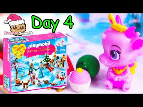 Playmobil Holiday Christmas Advent Calendar Day 4 Cookie Swirl C Toy Surprise Video - UCelMeixAOTs2OQAAi9wU8-g