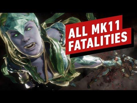 All Mortal Kombat 11 Fatalities and Fatal Blows (MK 11) - UCKy1dAqELo0zrOtPkf0eTMw