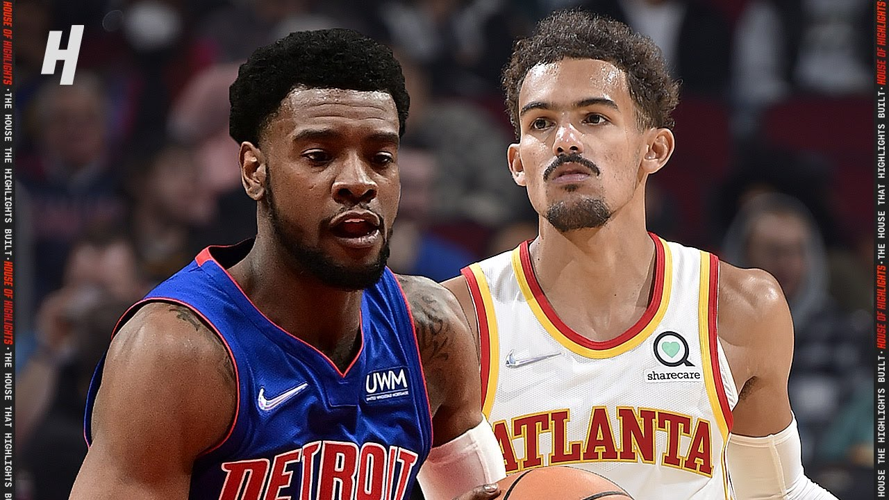 Detroit Pistons vs Atlanta Hawks – Full Game Highlights | October 25, 2021 | 2021-22 NBA Season