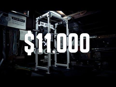 $11,000 Garage Gym Tour - UCNfwT9xv00lNZ7P6J6YhjrQ