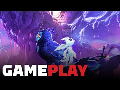Ori and the Will of the Wisps Sprit Trial Gameplay - Gamescom 2018 - UCKy1dAqELo0zrOtPkf0eTMw