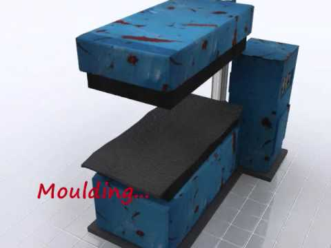 Animation - Manufacturing of a rubber mat - UCyrAVL3LBaWgHGFhDpJEodg