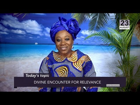 Dr Becky Paul-Enenche - SEEDS OF DESTINY  FRIDAY 23RD AUGUST 2019