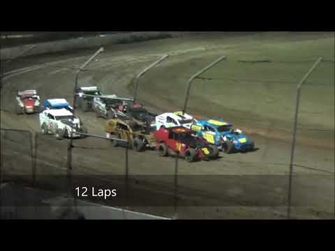 Modlites Feature Race at Castrol Edge Lismore Speedway. 19.01.19 - dirt track racing video image