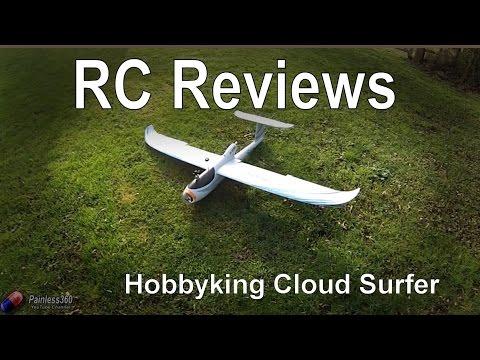 RC Reviews - Hobbyking Cloud Surfer FPV Plane - UCp1vASX-fg959vRc1xowqpw
