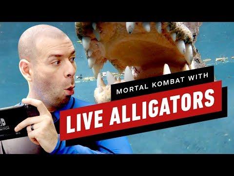 Let's Play Mortal Kombat With LIVE ALLIGATORS - UCKy1dAqELo0zrOtPkf0eTMw